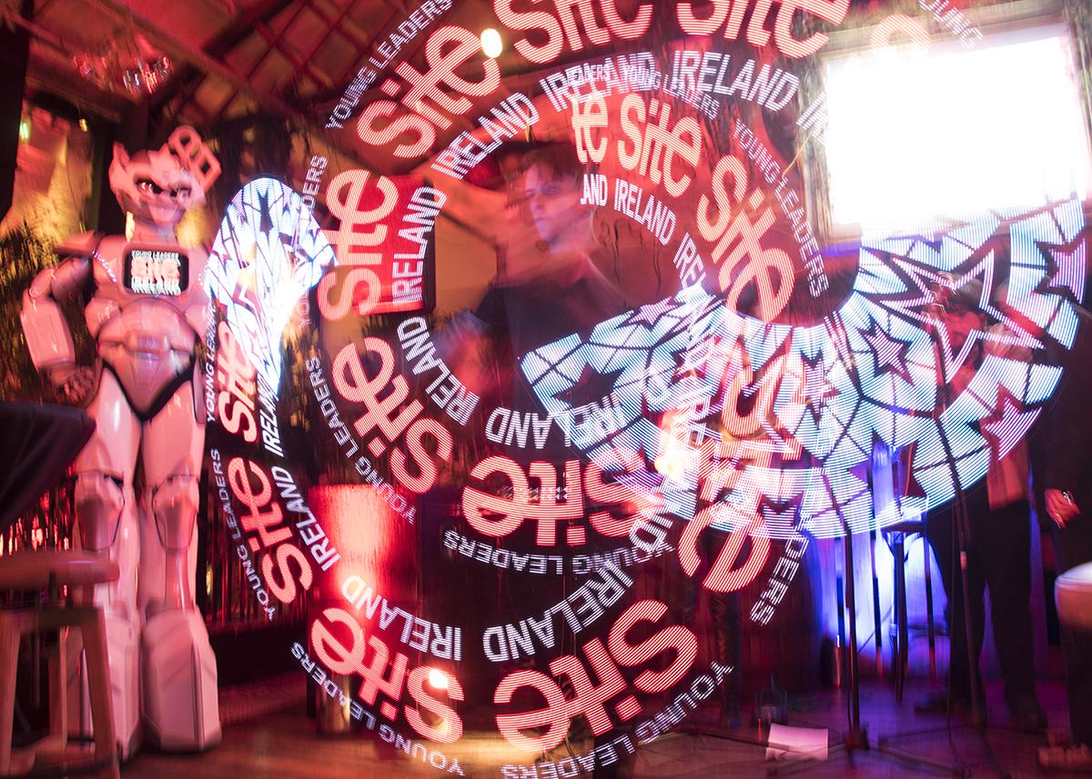 digital fire art live in dublin